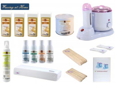 EpilationsSet, DERMO SILK Warmwachs + HONEY Patronen, PREMIUM QUALITY