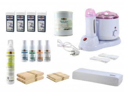 EpilationsSet, AZULENE Warmwachs+AZULENE Patronen, PREMIUM QUALITY