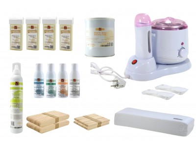 EpilationsSet, DERMO SILK Warmwachs + NATURAL Patronen, PREMIUM QUALITY