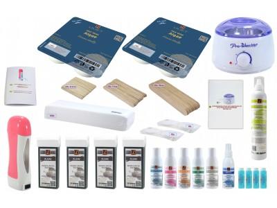 Set:Wax-Salon Für Männer, Wachs, Epilation, Haarentfernung, ALGAE