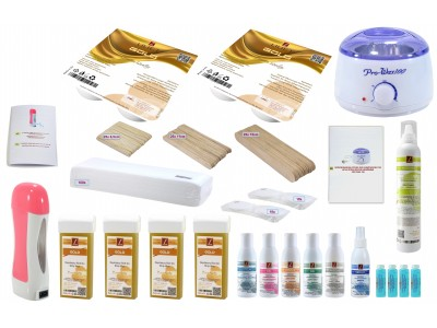 Hair Removal Kit GOLD, for fine Hairs