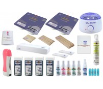 Set:Wax-Salon, LAVENDEL, Wachs, Epilation, Haarentfernung