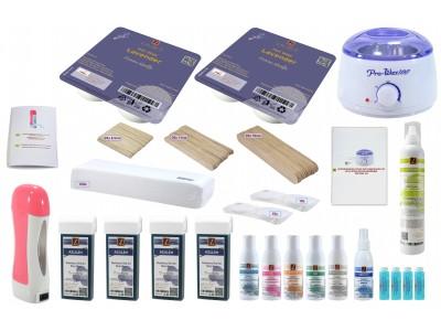Set:Wax-Salon, LAVENDEL, Wachs, Epilation, Haarentfernung