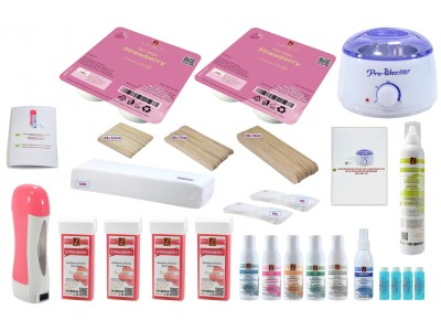 wax salon, Wax Hair Removal Kit, STRAWBERRY