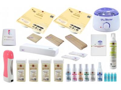 Set:Wachs-Salon, Vanillen-Duft, Haarentfernung