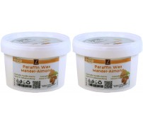 2x Paraffin Bad, MANDEL, PREMIUM QUALITY ( 2x 500ml )