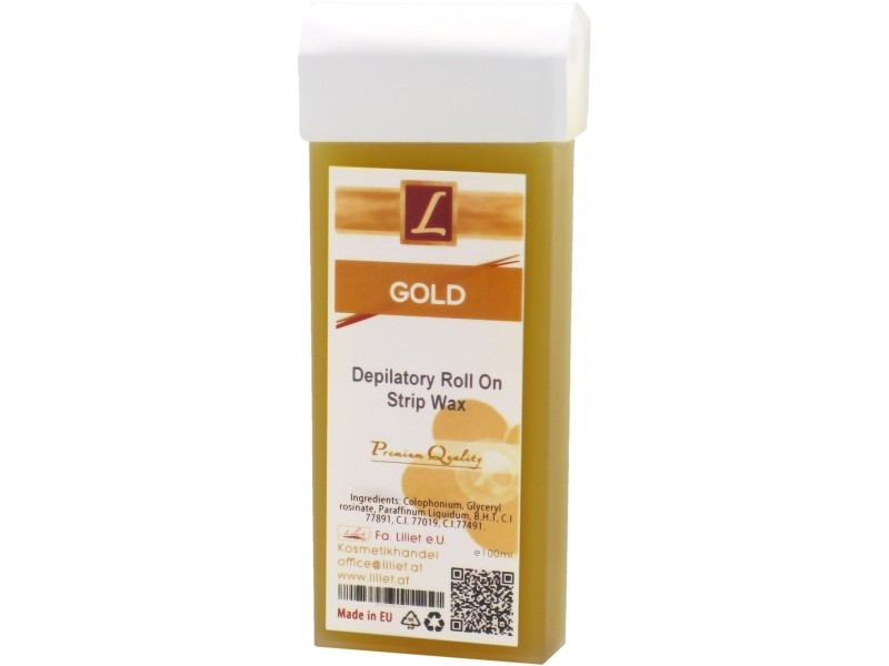 Warmwachs Patrone GOLD, Premium Quality