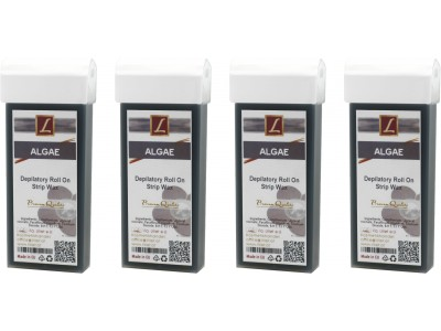 4x 100ml Warmwachs Patrone ALGAE, Premium Quality