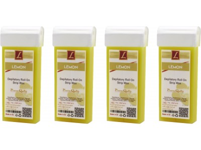 4x 100ml Warmwachs Patrone LIMONE, Premium Quality