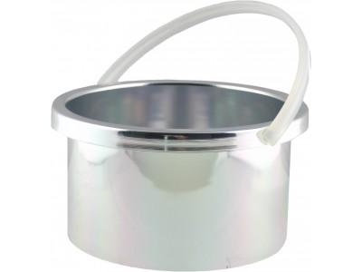 Metall-Behälter für Wachserhitzer Pro 100, geeignet für Warmwachs & Hartwachs, Wachs-Kapazität: 400ml