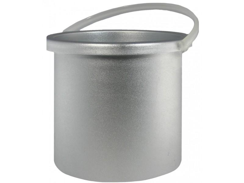 Metall-Behälter für Kombi-Wachserhitzer, geeignet für Warmwachs & Hartwachs, Wachskapazität: 800ml