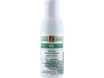 Depilatory Post Treatment Gel, 125ml, Post Waxing, PREMIUM QUALITY