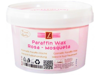 1x Paraffin-Wachs, Bad, Rosa Mosqueta (1 x 500ml), PREMIUM QUALITY