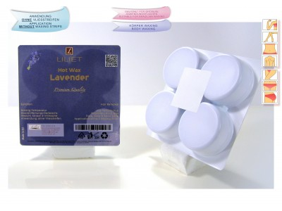 2x PREMIUM QUALITY, hot wax, Lavender ( 2x 0,5kg )