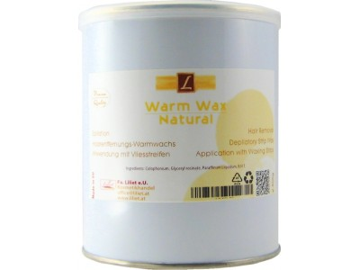 warmwachs Natural, Premium Quality